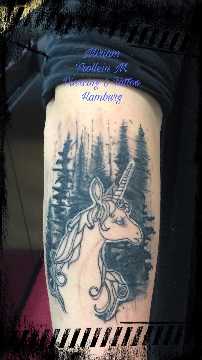 The last Unicorn Tattoo