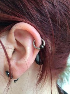 Helix Ohrpiercing