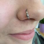 Nasenflügel Piercing