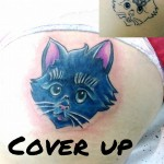 Katze Cover Up