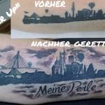 Cover Up Hamburg Skyline