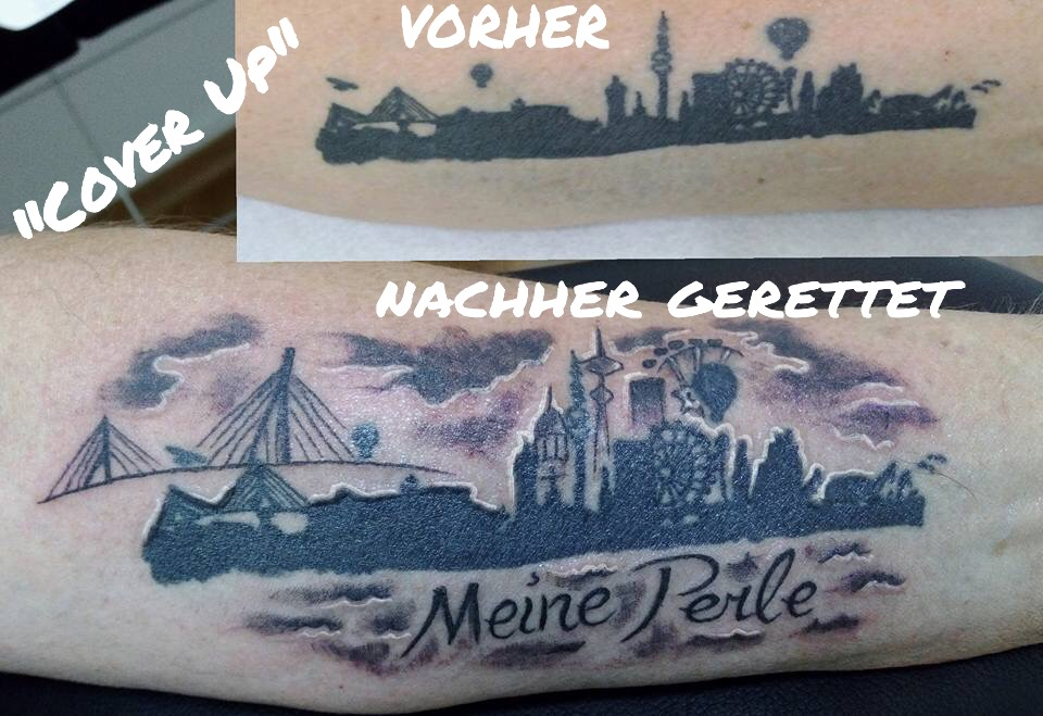Cover Up Hamburg Skyline