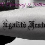 Tattoo Französisch