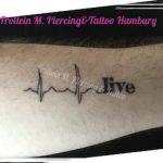 Herzlinie Tattoo