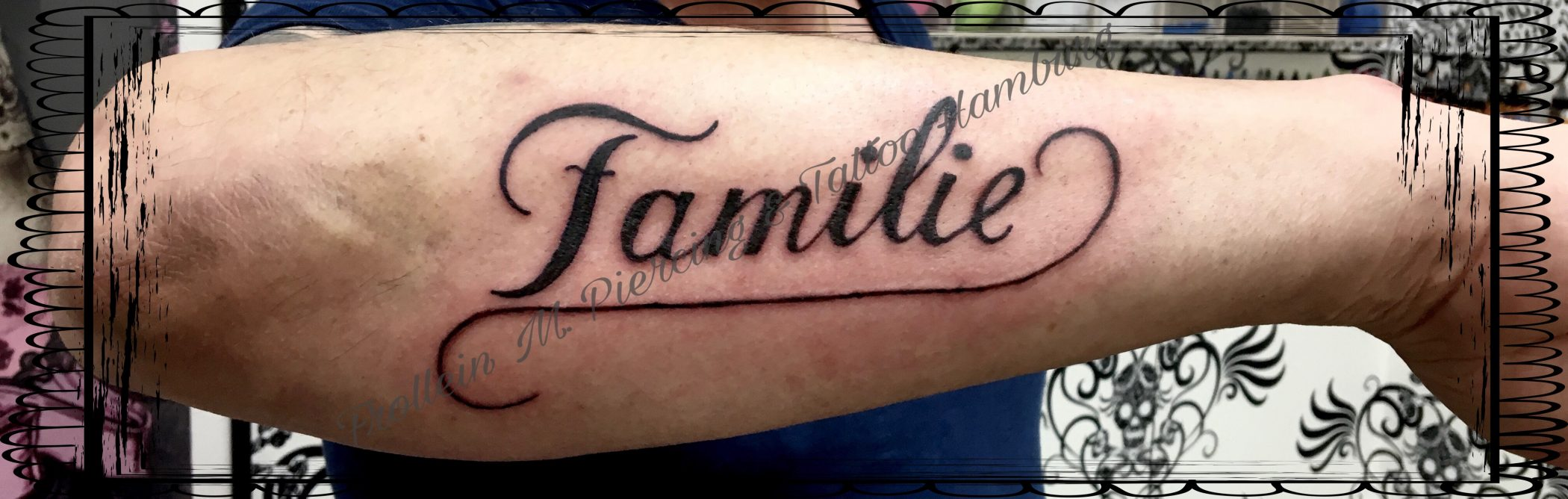 """""""Familie"""" Tattoo Unterarm"""