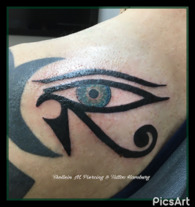 Horus Auge Tattoo