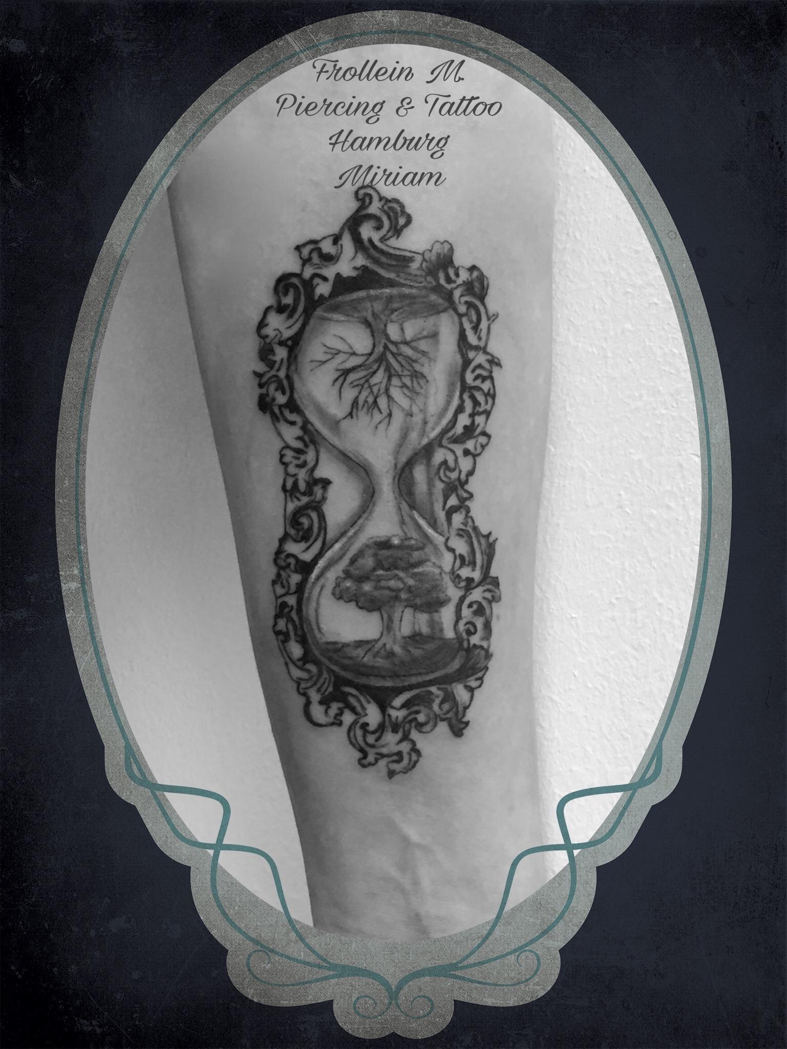 Sanduhr Tattoo