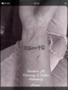 Minimal Trash Tattoo