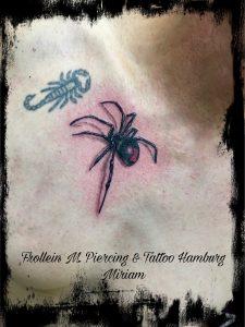 Spinnen Tattoo