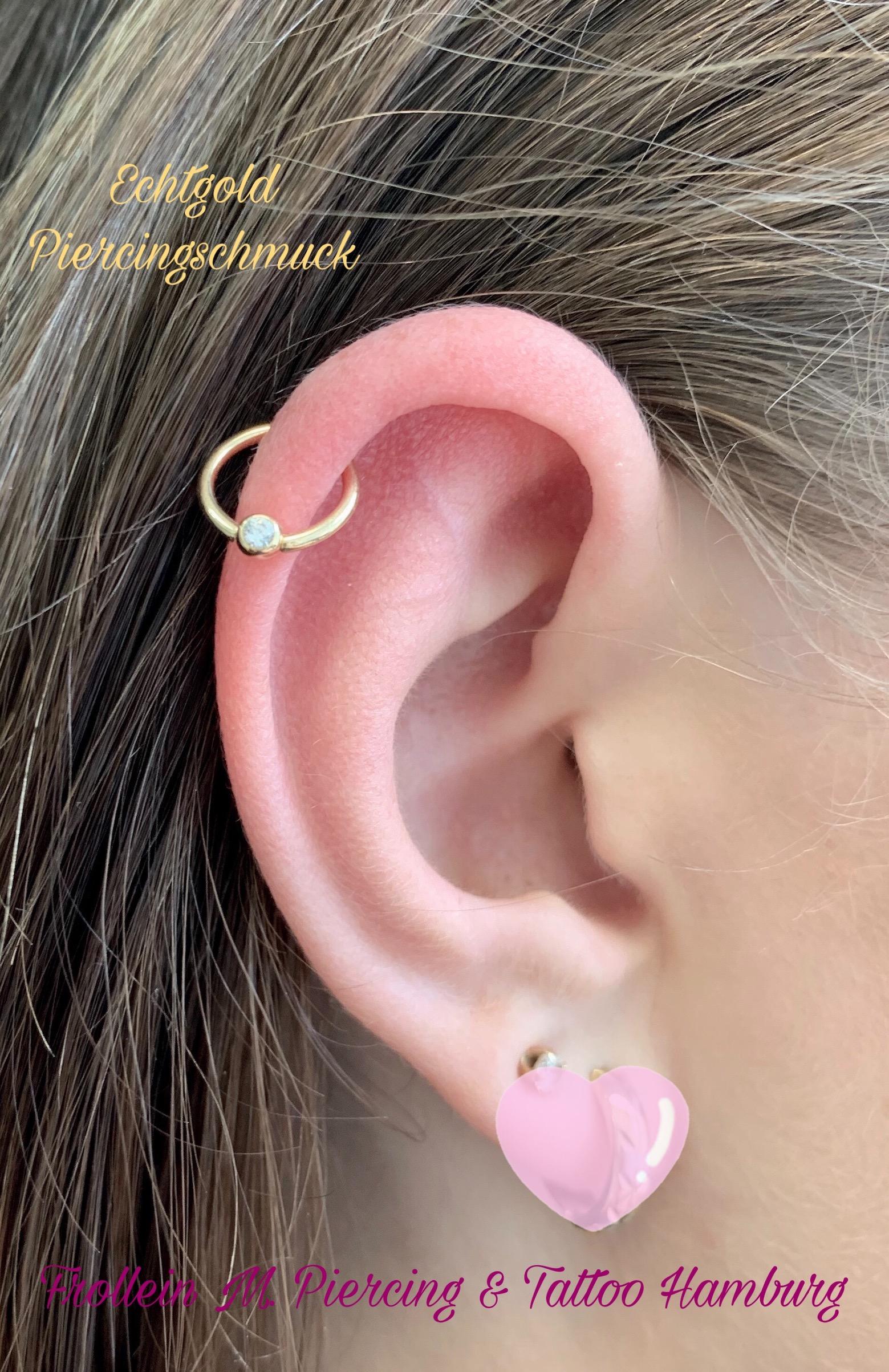 Entzündet christina piercing Piercing entzündet: